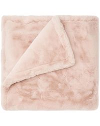 Apparis Shirley Faux Fur Blanket - Pink