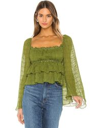Tularosa Lucy Top - Green