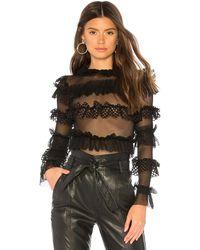 Ow Intimates Grace Bodysuit - Black