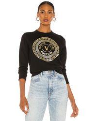 Versace Jeans Couture Logo スウェットシャツ - ブラック