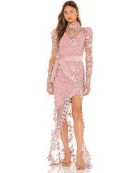 Zhivago Poison Gown - Pink