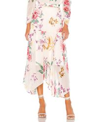 Keepsake About Us Midi Skirt - Pink