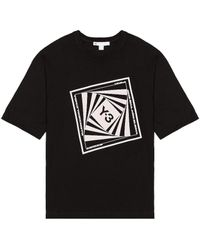 Y-3 Optimistic Illusions Tシャツ - ブラック