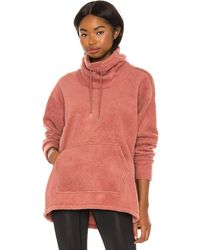 Nike Thermal Cozy Cowl Sweater - Pink