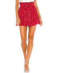 MAJORELLE Charlie Mini Skirt - Rot