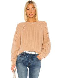 Autumn Cashmere Shaker Crew Sweater - Mehrfarbig