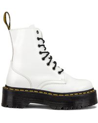 Dr. Martens Ботинки Jadon Smooth На Платформе - Белый