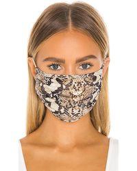GRLFRND Protective Face Mask - Brown