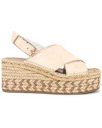 Rag & Bone Tari Wedge Sandal - Natural