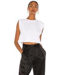 GRLFRND Cuffed Tシャツ - ホワイト