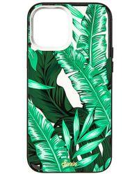 Sonix Чехол Для Iphone Magsafe Antimicrobial В Цвете Polo Lounge - Зеленый