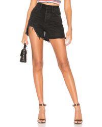 Agolde Dee Shorts. Size 24,25,26,27,28,29,30,31. - Schwarz