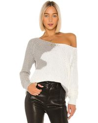 House of Harlow 1960 X Revolve Adrienne Pullover - Grey