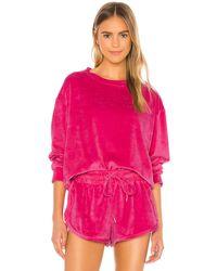 Mikoh Swimwear Свитшот Kimo В Цвете Pink Passion - Розовый