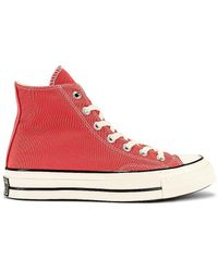 Converse Chuck 70 Seasonal Color Recycled Canvas スニーカー - ピンク