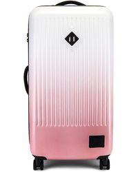 Herschel Supply Co. Чемодан В Цвете Silver Birch & Ash Rose Gradient - Pink. Размер All. - Розовый