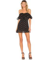Ále By Alessandra - X Revolve Lola Mini Dress In Black - Lyst