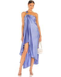 Cult Gaia Manu Gown - Blau