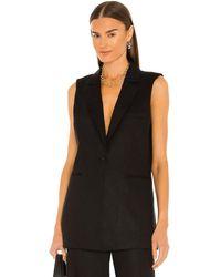 BCBGMAXAZRIA Vest top - Negro