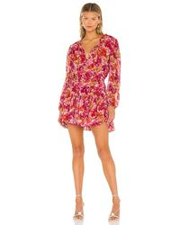 MISA Los Angles Clementine Dress - Red