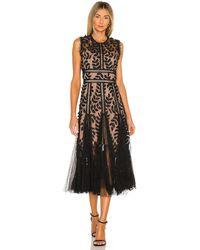 Bronx and Banco Saba Midi Dress - Black
