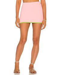 Frankie's Bikinis Windward Terry Skirt - Blue