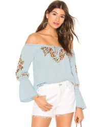 Cupcakes And Cashmere - Adrien Off-the-shoulder Top - Lyst