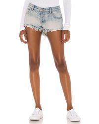 One Teaspoon Bonitas Low Waist Denim Short - Multicolour
