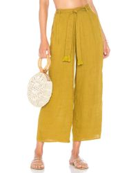 L*Space - L* Smith Pant In Olive - Lyst
