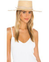 Sensi Studio Шляпа Cordovez В Цвете Beige & Cream - Естественный