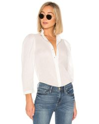 Apiece Apart - Marijn Button Up Blouse - Lyst