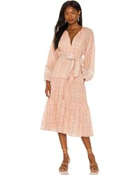 Cleobella Kala Midi Dress - Pink