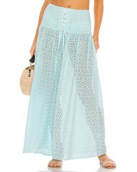 Marysia Swim Riviera Skirt - Blue