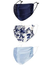 8 Other Reasons Silky Mask Set - Blue
