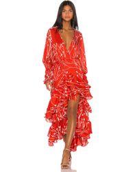Alexis Rodina Gown - Orange