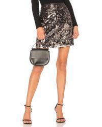 1.STATE - Sequin Mini Skirt - Lyst