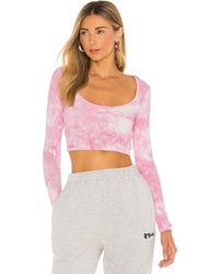 superdown TOP CROPPED LAURIE - Rose