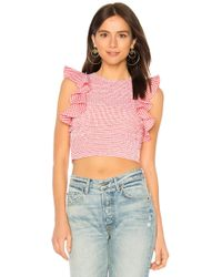 C/meo Collective - Best Love Top In Red - Lyst