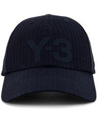 Y-3 Кепка Logo В Цвете Legend Ink - Синий