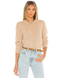 Nation Ltd Busy Oversized 80s Sweater - Natural