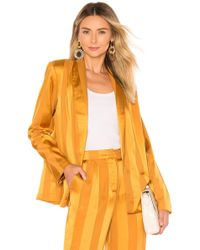 House of Harlow 1960 - X Revolve Mira Jacket In Yellow - Lyst
