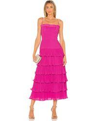 AMUR Viola Dress - Pink