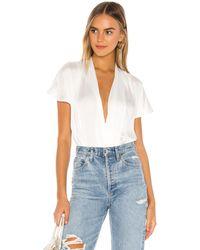 PAIGE Dijon Bodysuit - White