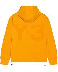 Y-3 パーカー - オレンジ