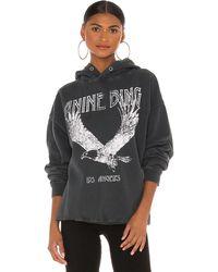 Anine Bing Rowe スウェットシャツ - ブラック