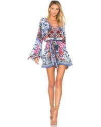 Camilla - Wide Sleeve Playsuit - Lyst