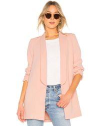 House of Harlow 1960 - X Revolve Chloe Boyfriend Jacket In Pink - Lyst