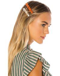 Amber Sceats Rosa Hair Clip Set - Orange