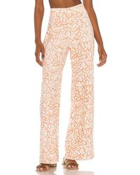 Free People Love So Right Wide Leg Pant - Multicolour