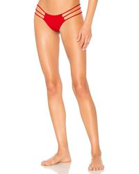 Indah - Melli Skimpy Bottom In Red - Lyst